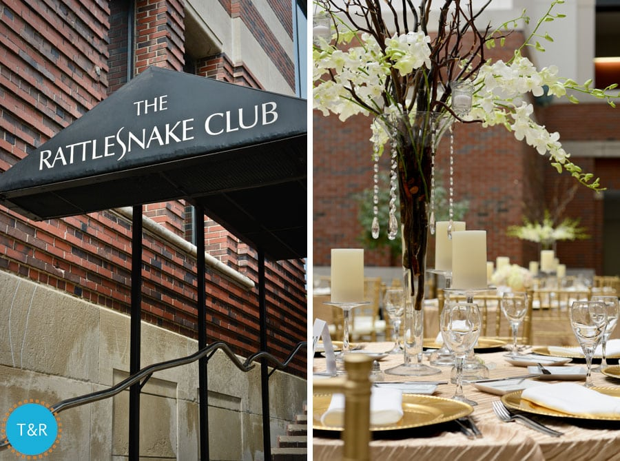 Whitney And Jeremy Had A Beautiful Wedding Day At The Rattlesnake Club In Downtown Detroit Was Surrounded By Great Women Her Life As She Got